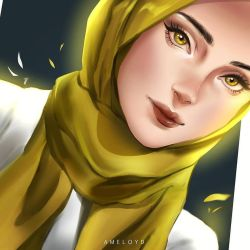 HIJAB by ameloyd