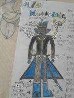My OC: Multidude (colored version) by multidude233