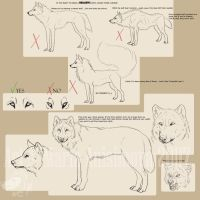 Drawing realistic wolves... by Yellow-eyes