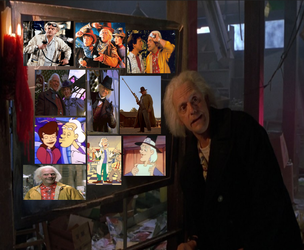 Character Collage: Doc Emmett Brown by Toongirl18