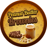 Peanut Butter Brownies by Echilon