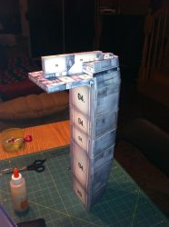 sulaco papercraft project by steveeasye187