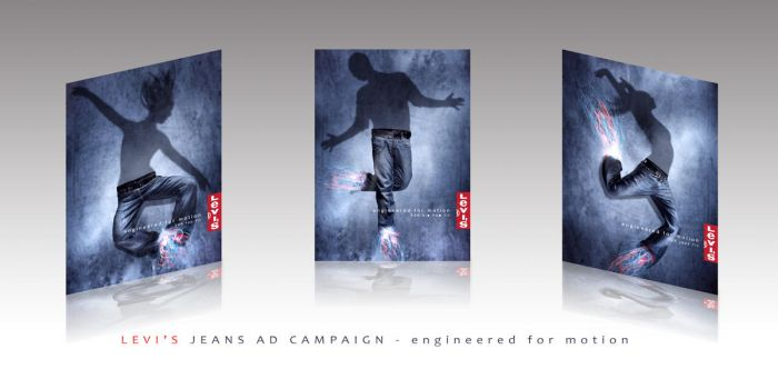 Levi's Jeans Ad Campaign by YagaK
