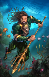 Aquaman by vest