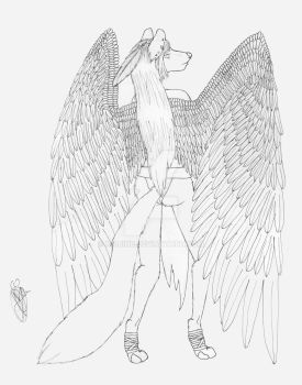 In All my Winged Glory by Kaijine