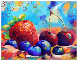 Fruits and Berries by TooMuchColor
