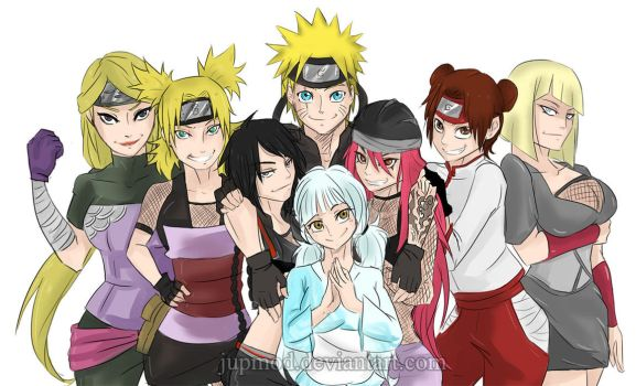 The Sealed Kunai: Naruto's Ladies (Harem) by JuPMod