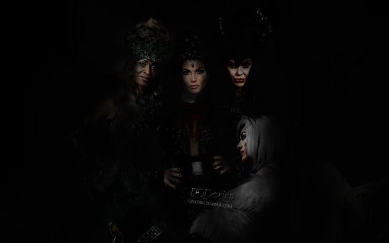 Queens of Darkness - Wallpaper by eqdesign