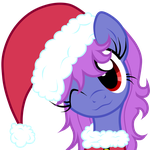Free Art:Santa Pony by Oathkeeper21