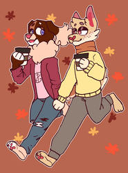 Fall Gays by ducclord