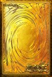 Gold-back card  yugioh by Carlos123321