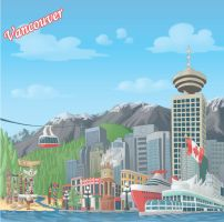 Vancouver by discogangsta
