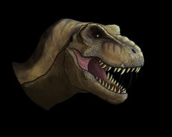 T. rex from Jurassic World by Thek560