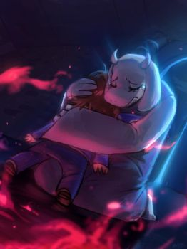 Toriel Heartache by Porforever
