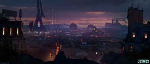 Cosmos - City of Love by ned-rogers