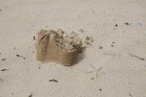 sand castle in colour by AIM2790
