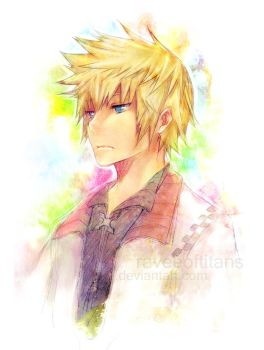 KH: roxas-in my mind by raveeoftitans