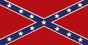 Confederacy Flag USA by Politicalflags