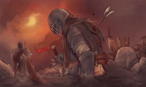 Fallen Knight by Sasplayer