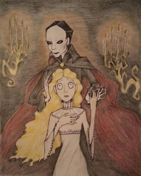 The Phantom of the Opera by Cronewitch