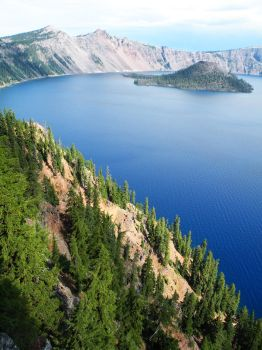 Crater Lake Vista by WillFactorMedia