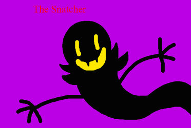 AHIT - The Snatcher Drawing by worldofcaitlyn