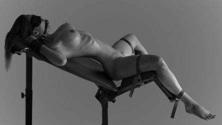 Strapped In BW by Willstone