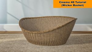 Model a wicker basket (Cinema 4D Tutorial) by NIKOMEDIA