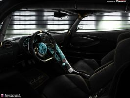 Lotus Elise RR Interier by CypoDesign