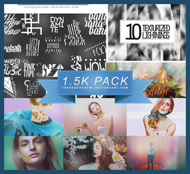 1.5K WATCHERS PACK | THANK YOU! by TheEdgeOfDemi
