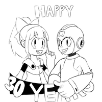 30 years of Rockman by baron-von-jiggly