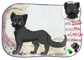 . : SotF : . Scorchwhisker-Creekclan by Bailey-Bales