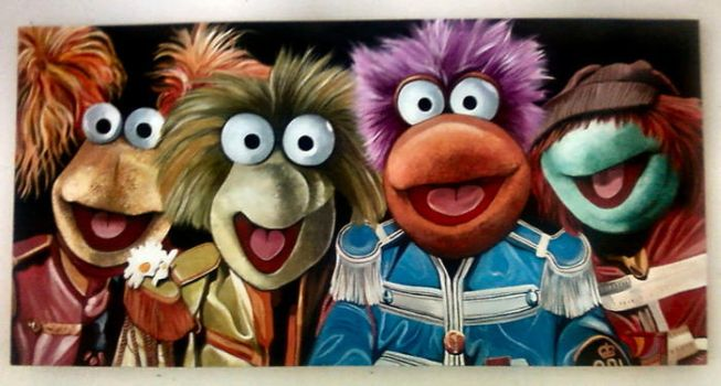 Fraggle Rock Band by strangelydrawn