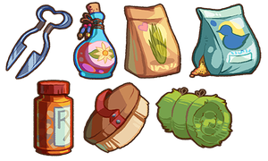 Game Items - Misc. Supplies by IntroducingEmy