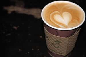Falling in Love with Coffee by OffCenterLucy