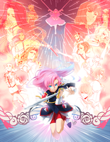 Utena + World Revolution by BakaMandy