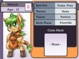 Character Info : Hybrid by vavacung