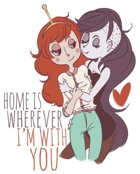 home is wherever i'm with you by brandipandii