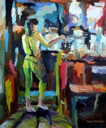 Untitled (Behind the Counter) by Art-deWhill