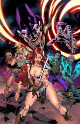 RED SONJA #15 - Cover - COLORS by CarlosGomezArtist