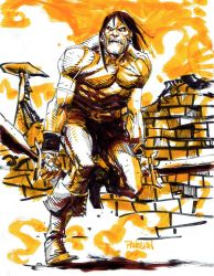 Conan the Ravager by urban-barbarian