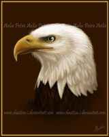 Bald Eagle Painting by Chaotica-I