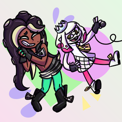 Cuties Marina and Pearl by Lilyofthelight