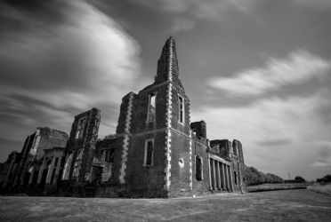 Houghton House (2) by Mincingyoda