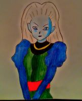 Creating my own characther of dragon ball by Demy by Demy111