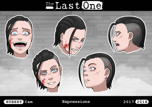 The Last One - Expressions (5/5) by Cam-Art