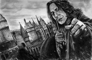 Severus Snape - HP7 by bloofeesh