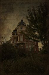 House on the Hill by Mortal-Cyn