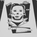 Day31 - Michael Myers by the-gr8-art