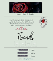 Gothic Rose Profile Coding [f2u] by Coding-by-Fiona